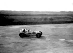 Alta. George Abecassis at Brooklands Witsun 1938
